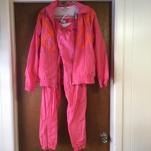 e84cd942b93e68 VINTAGE Towne By London Fog 80 s 90 s Track Suit S.  M 5abd9f753800c567d5f73565